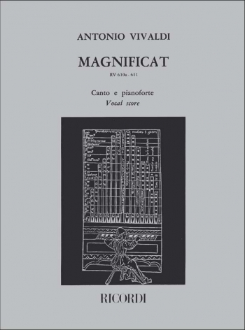 Magnificat: RV610a-611: Vocal Score  (Ricordi)