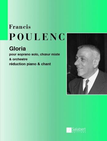 Gloria: Vocal Score (Salabert)