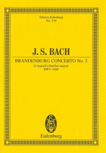 Brandenburg Concerto No.3: Bwv1048: Miniature Score