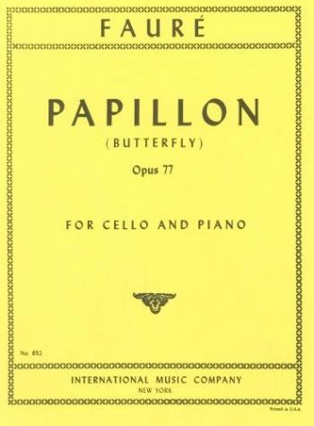 Papillon: Cello & Piano (International)