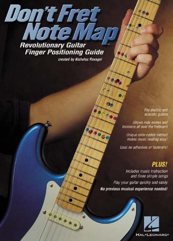 Dont Fret Note Map: Guitar Finger Positioning Guide