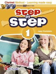 Step By Step: Clarinet Method Book Cd & DVD