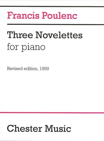 3 Novelettes: Piano (Chester)