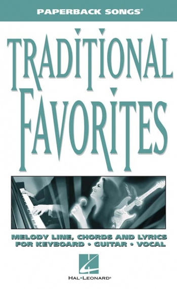 Paperback Songs: Traditional Favorites: Melody Line and Chords