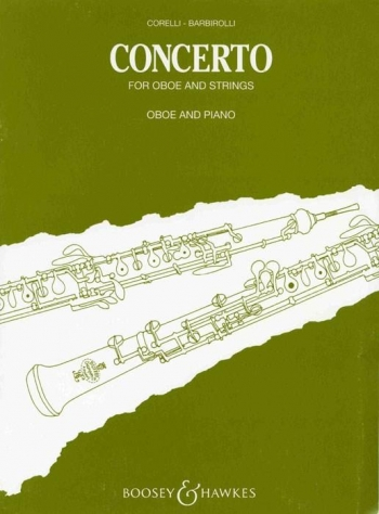 Concerto For Oboe: Oboe & Piano (B&H)