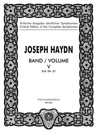 Symphonies No.50-57: Vol.5: Miniature Score