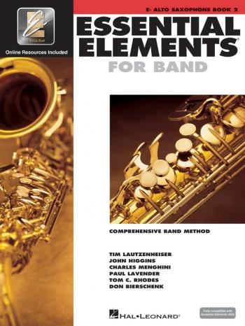 Essential Elements 2000: Book 2: Eb Alto Saxophone: Book & Cd