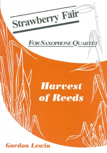 Strawberry Fair: Saxophone Quartet (SATB)
