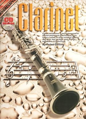 Progressive Clarinet Method: Book & CD  (Gelling)