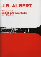 24 Varied Scales And Exercises: Clarinet