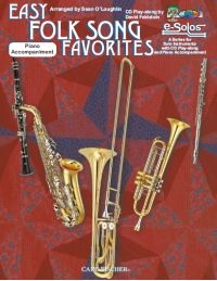 Easy Folk Song Favourites: Clarinet: Book & CD