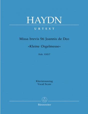 Missa Brevis : Little Organ Mass: St Joannis De Deo: Vocal Score (Barenreiter)