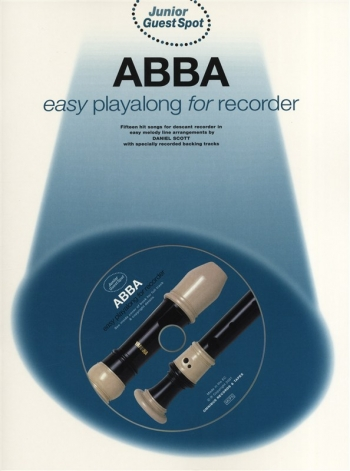 Junior Guest Spot: Abba: Recorder: Book & CD