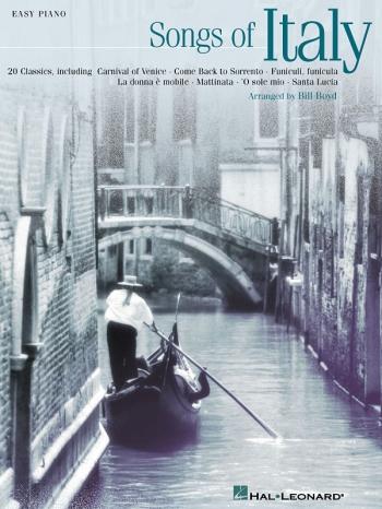 Songs Of Italy: 20 Classics Easy Piano