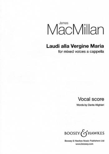 Macmillan: Laudi Alla Vergine Maria: Satb: Vocal Score