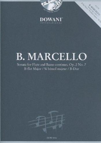 Sonata Op2 No 7: Bb Major Flute  (Dowani)