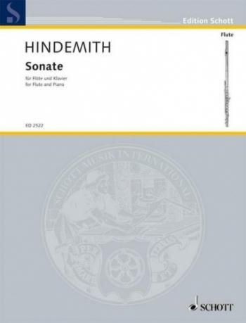 Sonata: 1936: Flute & Piano (Schott)