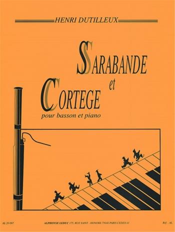 Sarabande Et Cortege: Bassoon & Piano