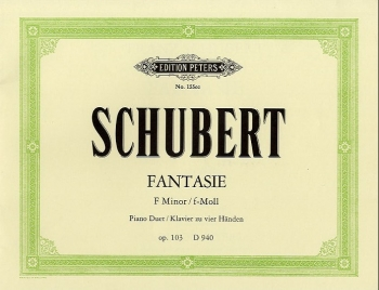 Fantasia F Minor Op103: Piano Duet