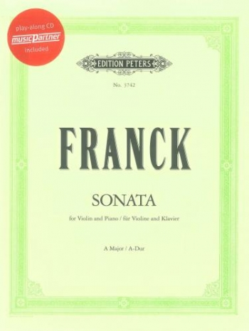 Sonata: A Major: Violin And Piano (Peters)