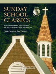 Sunday School Classics: Bb Instruments: Clarinet: Book & CD