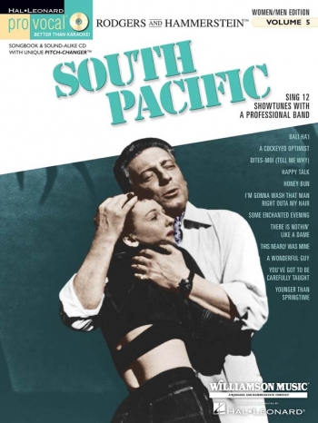 Pro Vocal: South Pacific: Vol 5: Top Line and Chords: Men/Women