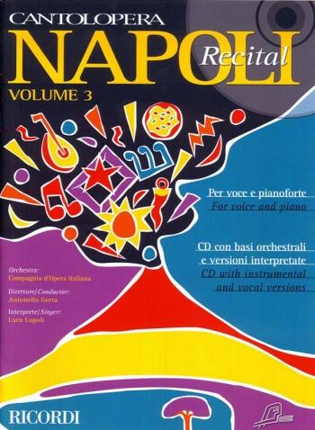Cantolopera: Napoli Recital Vol 3: Voice and Piano