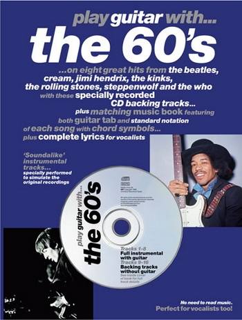Play Guitar With The 60s  Tab:  Bk & Cd