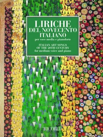 Italian Art Songs Of The 20th Centuray: Medium Voice and Piano