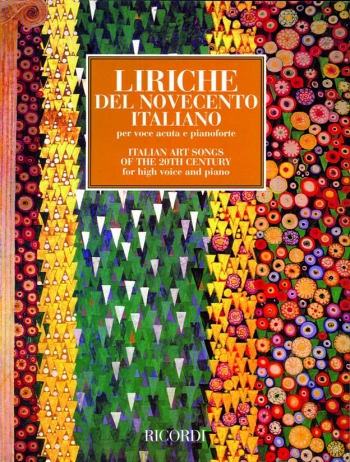 Italian Art Songs Of The 20th Centuray: High Voice and Piano