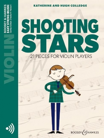 Shooting Stars: Violin: Part Only: Book & Cd  (colledge) (Boosey & Hawkes)