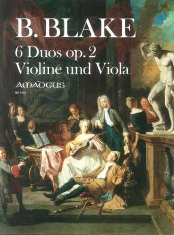 Six Duos OP2: Violin and Viola