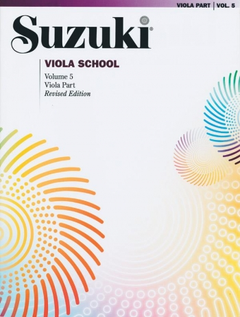 Suzuki Viola School Vol.5 Viola Part