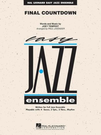 Easy Jazz Ensemble: Final Count Down: Score & Parts (Lavender)