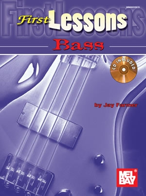 First Lessons Bass Guitar: Book & CD