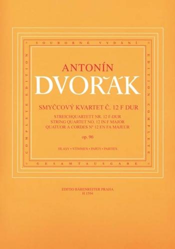 Dvorak: String Quartet: No12: Op96: F Major: American: Parts