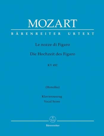 Marriage Of Figaro: Vocal Score (Barenreiter)