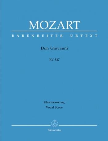 Don Giovanni: Vocal Score (Barenreiter)
