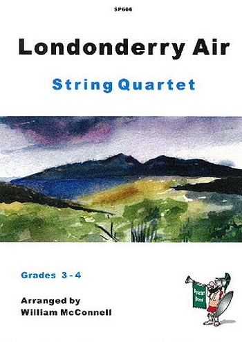 Londonderry Air: String Quartet -Score and Parts (mcconnell)