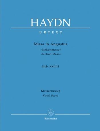 Missa In Angustiis: Nelson Mass: Hob22 11: Vocal Score (Barenreiter)