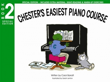 Chesters Easiest Piano Course (Special Edition): Book 2  (Includes Extra Material)