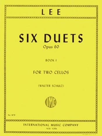 6 Duets Op60: Two Cellos (International)