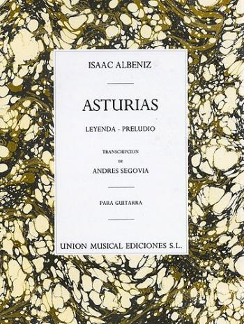 Asturias Preludio (segovia): Guitar