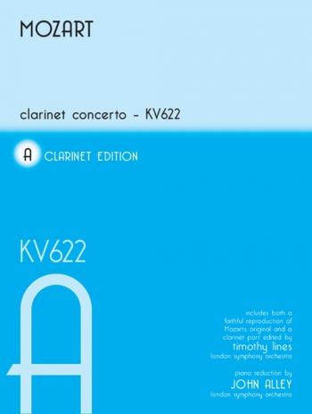 Clarinet Concerto: A Major: K622: A Clarinet & Piano (Mayhew)