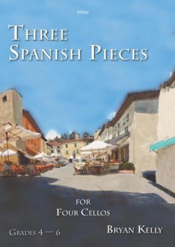 Three Spanish Pieces: Cello Quartet (Spartan)