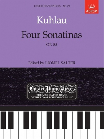 4 Sonatinas: Op.88: Epp79 (Easier Piano Pieces) (ABRSM)