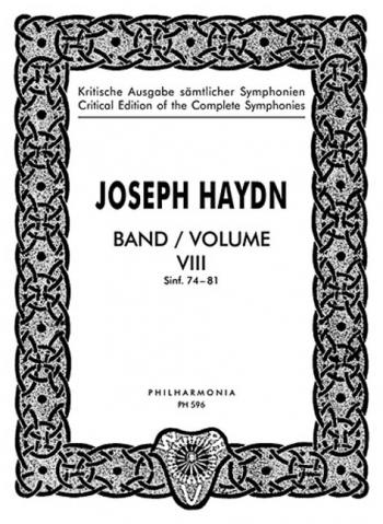 Symphonies No.74-81: Vol.8: Miniature Score