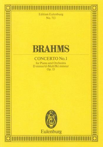 Concerto No 1 Op15 D Minor: Piano Concerto: Miniature Score
