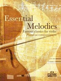 Essential Melodies: Violin Piano Accompaniment