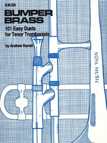 Bumper Brass: 101 Easy Duets: Trombone Treble Clef